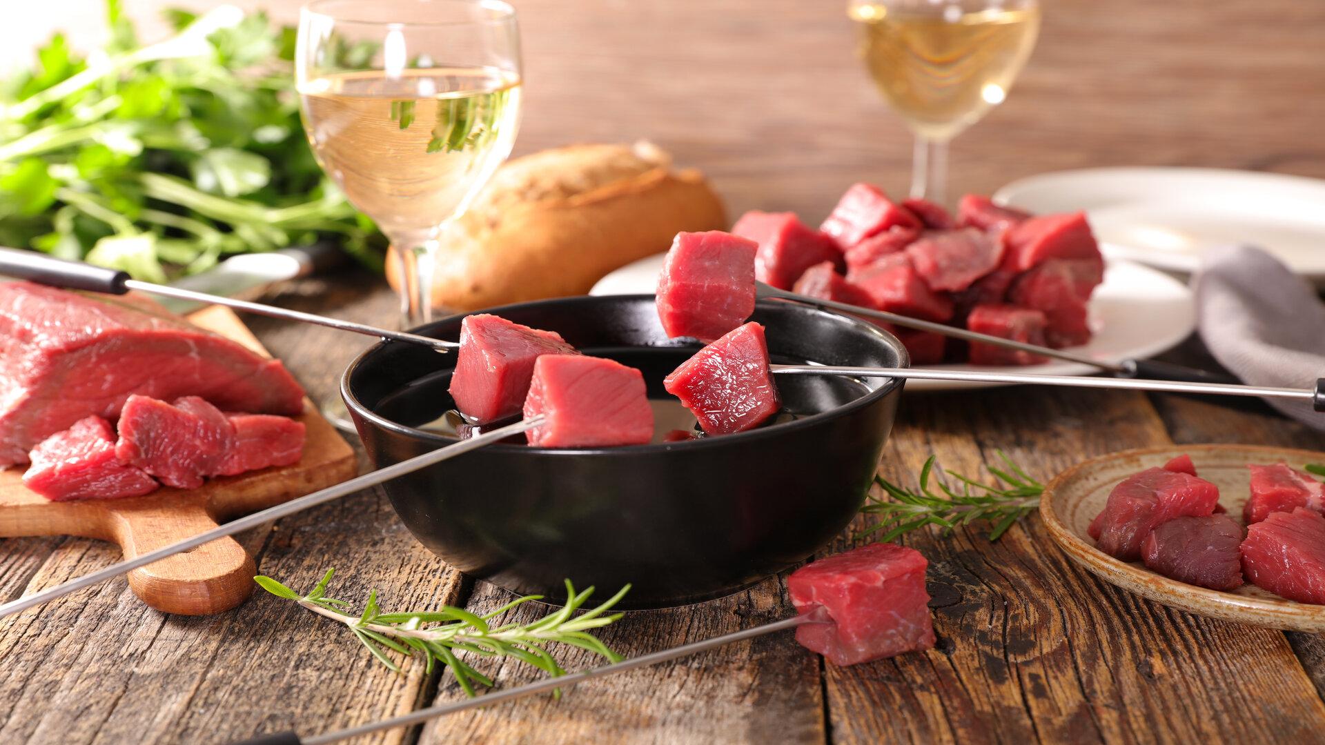 Quelles recettes à faire, avec de la viande de bœuf pour fondue?